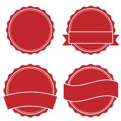 Logo Button rot
