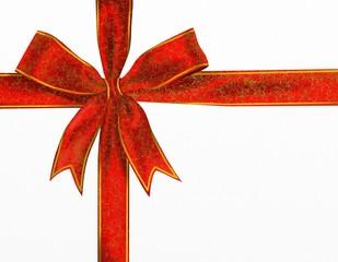 fiocco rosso decorativo
