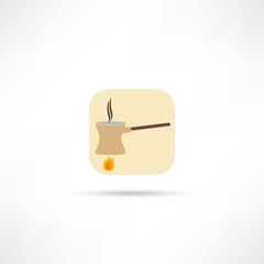 coffee turk icon