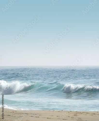 canvas print picture Morning Wave