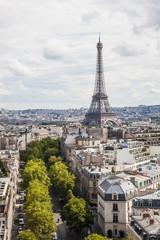 Aussicht auf den Eiffelturm