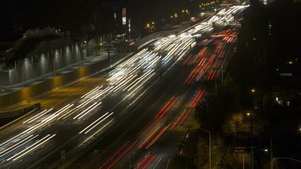 San Diego Freeway in West Los Angeles