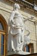 """Statue """"Vigilance"""" in Gatchina, Russia"""