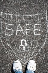 In safe