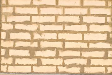 Old white brick