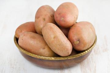potato in dish