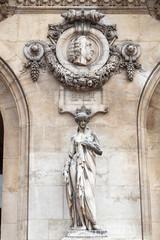 Skulptur und Büste von Johann Sebastian Bach