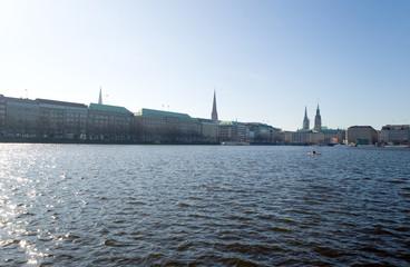 Binnenalster - Hamburg