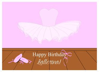 birthday wishes for a little ballerina