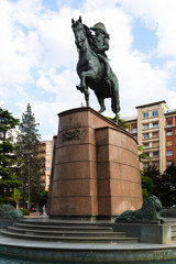 Monument of General Espartero in Logrono