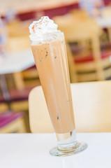 Iced mocha coffee