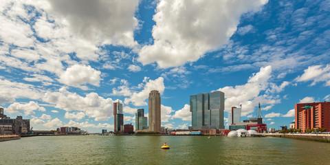 Panoramic view of Rotterdam, The Netherlands