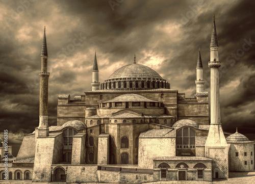 Fototapeta Hagia Sophia@Istanbul