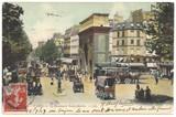 Fototapeta Paris, Boulevard Saint-Martin 1907 (hist. Postkarte)