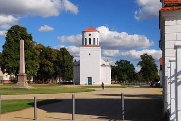 Die Schinkelkirche von Neuhardenberg