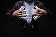 Leinwandbild Motiv Consummate mastery of magician