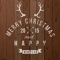 Christmas type design