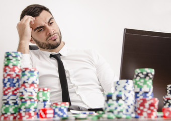 Regret playing online poker