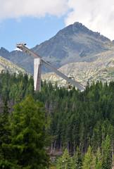 springboard, High Tatras, Slovakia, Europe