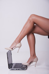 Legs laptop