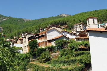 Vista parcial de Guisando, Ávila, España