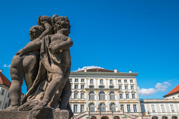 Nymphenburg Palace in Bavarias capital Munich Germany