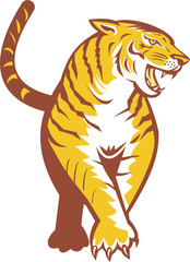Tiger Prowling Retro