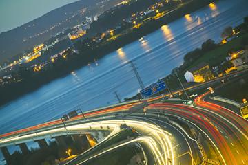 Multiple Lane Highway