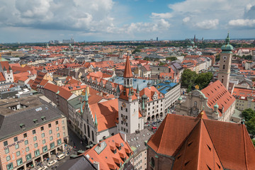 View of Munich Germany