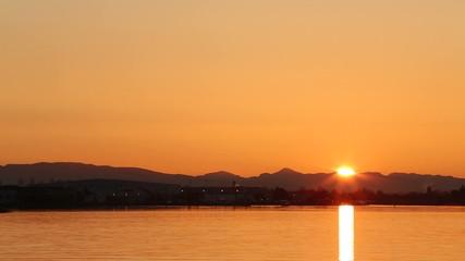 Fraser River Sunrise, Richmond, BC