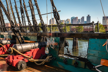 USS Constitution, the oldest commissioned ship in the US Navy