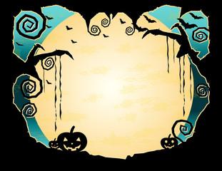 Halloween Grungy Background