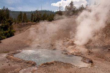 Boiling Pool at Yellowstone