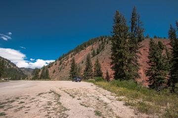 Roadside Scenery in Yellowstone