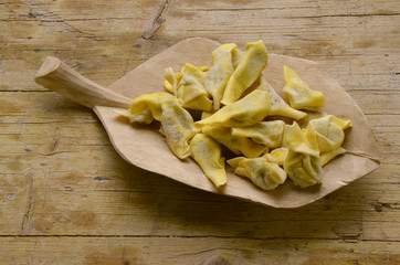 Pasta ripiena Pasta rellena Cucina italiana Milan expo 2015