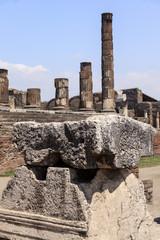 Apollo-Tempel - Ruinen in Pompeji