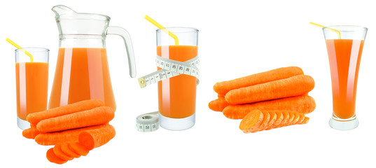 carrot juice and meter