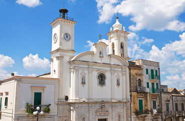 Church of Immacolata. Minervino Murge. Puglia. Italy.
