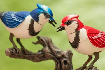 Mechanical birds.