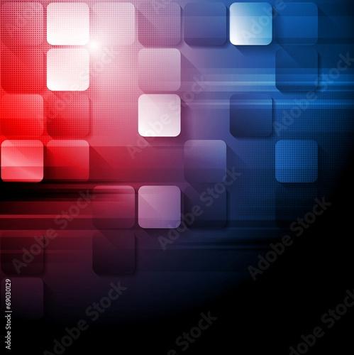 Tech modern bright background