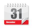 Flat Calendar Icon for Applications Vector Illustration - 69030387