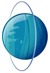 A blue planet