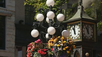 Gastown Tourist Steam Clock, Vancouver