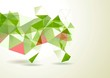 Bright geometrical vector background