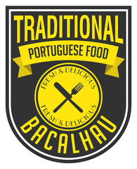 portuguese food label