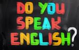 Fototapety Do You Speak English Concept