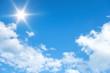 Leinwandbild Motiv bright sun