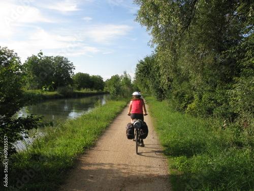 Deurstickers Fietsen bicycle