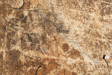 Old weathered grunge outdoor surface as background