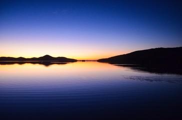 Mirror sunset